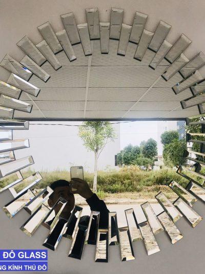 Gương tròn decor treo tường đẹp
